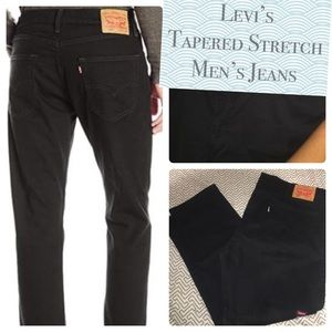 Slim straight fit Levi's brushed cotton jeans